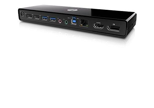 HP Port Replicator usb 3.0 Includes Power Cable. for Uk:eu:us. - H1L08ET