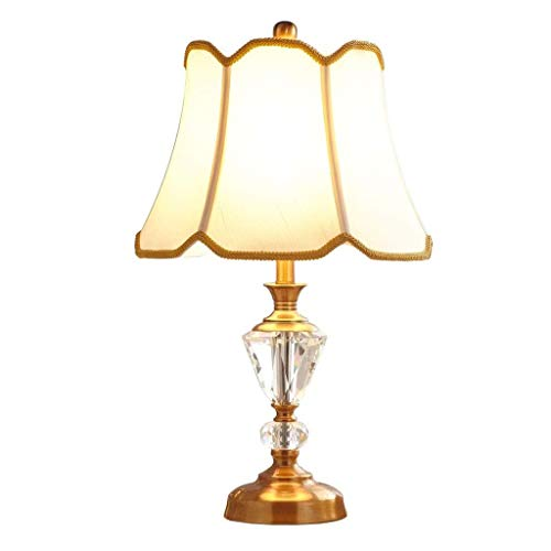 NXYJD La Manera Simple cristalino Moderno de Noche Contador de la lámpara Dormitorio Principal lámpara de Mesa lámpara de cabecera