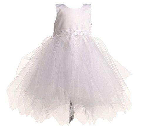 Capti Baby Mädchen Kleid Pauline TAFT Taufkleid Kinder Hochzeits Festlich Kleider (74)
