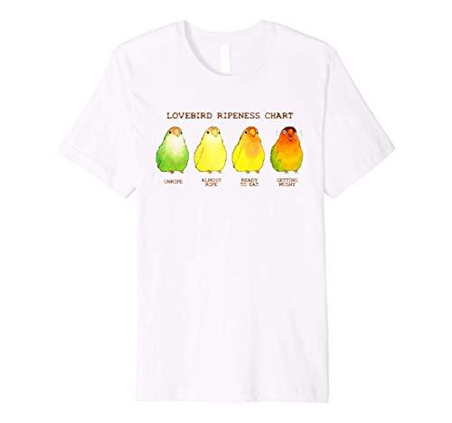 Lovebird Ripeness Chart T-Shirt