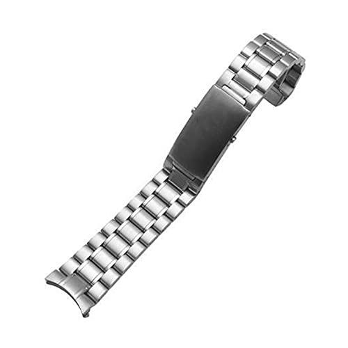 ENJY Correas de Reloj Hombres de 18 mm, 20 mm, Reloj de Acero Inoxidable de Accesorios de Reloj de 22 mm para liberación rápida Correa Deportiva Correa de Pulsera