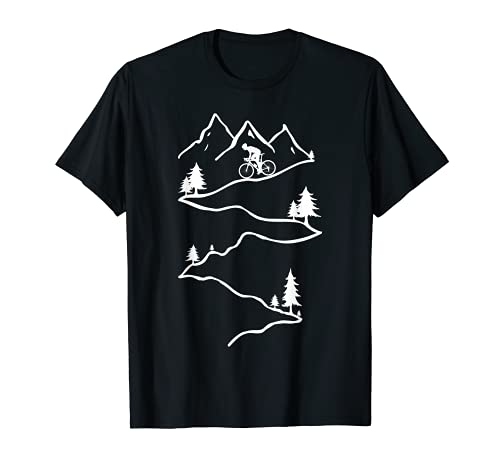 Vélo de montagne Vélo de descente Vélo de montagne Vélo de T-Shirt