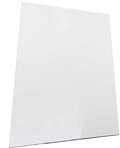 INDIGOS UG Magnetfolie/Magnetschild/DIN A3 420x297 mm zum selbst zuschneiden/Basteln - Küche - Schule