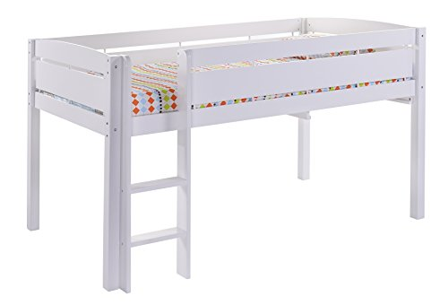 Canwood Whistler Junior Bed-White Loft, Single