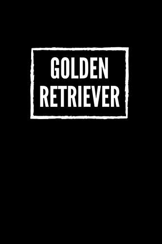 Golden Retriever: 120 Seiten liniert in ca. A5 Softcover | Perfekt als Notizbuch für alle kleinen Hundebesitzer, Hundeliebhaber zum Hundetraining