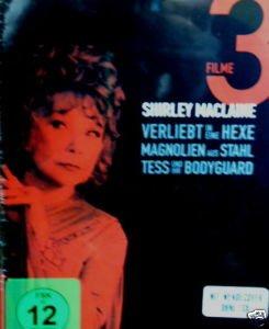 Shirley Maclaine Big  Box Edition: Verliebt in eine Hexe / Magnolien aus Stahl / Tess und Ihr Bodyguard