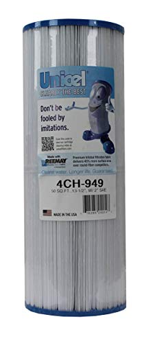 Unicel 4CH-949 Swimming Pool Spa Waterway Replacement Filter Cartridge 50 Sq Ft