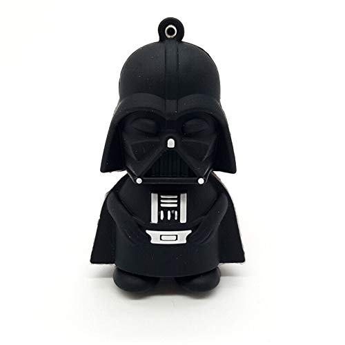 Wdd Star Wars USB Flash Drive - Darth Vader, R2-D2,Yoda,Darth Maul,Flash Drive de goma (Darth Vader)