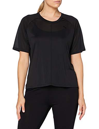 Puma Studio Relaxed SS Tee T-Shirt Femme Puma Black FR : XL (Taille Fabricant : XL)