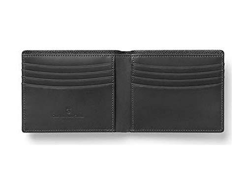 Graf von Faber-Castell Epsom Kreditkartenhülle, 12 cm, Schwarz