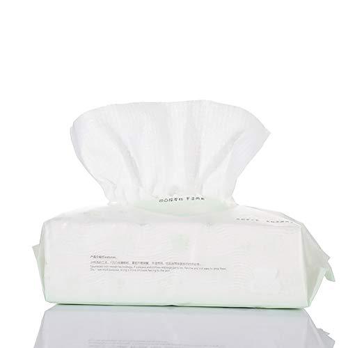 3 Pack Respirable Jetable Facial Lavage Serviette Maquillage Puff Doux Coton Tampons Nettoyage Profondeur Papier Essuie-Glace Cosmétique Vernis Ongles Remover