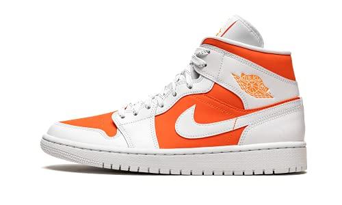 Jordan Dames Schoenen Nike Air 1 Mid SE Bright Citrus CZ0774-800, Helder Citrus Wit, 39 EU