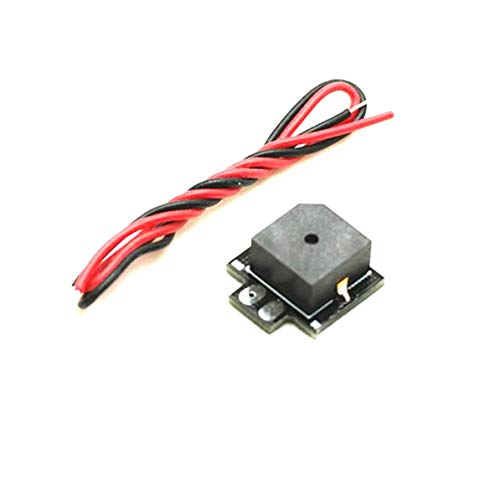 Sunnyflowk Tragbare Super Mini 5 V NAZE32 F3 Super Lauter Beeper 5 V Summer Tracker Für RC Racer Drone (schwarz)