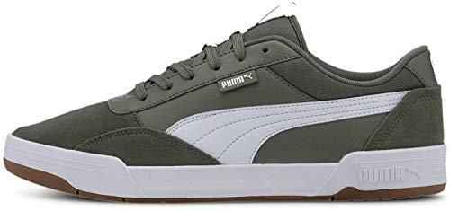 Puma - Mens C-Skate Shoes, Size: 9 M US, Color: Thyme/Puma White
