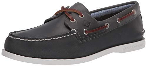 Sperry Men's Authentic Original 2-Eye PlushWave Boat Shoe, Navy, 7.5 UK
