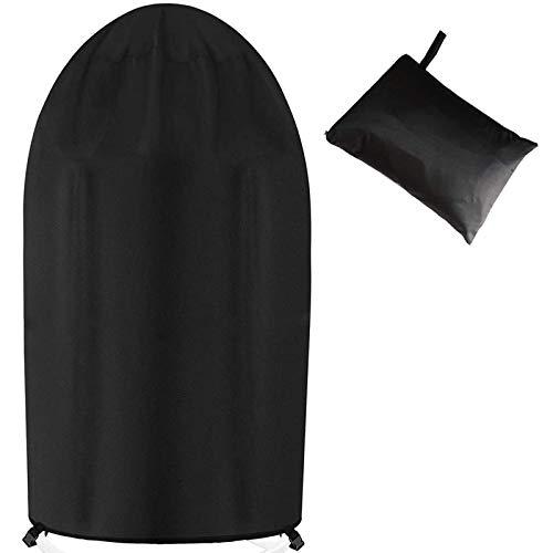 Peralng Funda protectora para sillón colgante, resistente al polvo, 190 x 115 cm, con cordón, impermeable, resistente al viento, a los rayos UV, para muebles, jardín y exterior