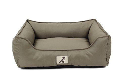 AllPetSolutions Dexter Beds Soft Waterproof Washable Hardwearing Basket Dog Bed (L, Green)