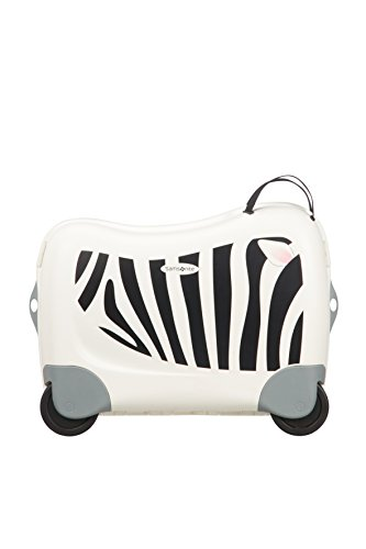 Samsonite Dream Rider – Kindergepäck, 51 cm, 28 L, Weiβ (Zebra Zeno) - 3