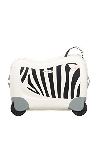Samsonite Dream Rider - Kindergepäck, 51 cm, 28 L, Weiβ (Zebra Zeno) - 3