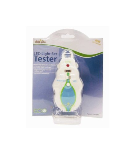 White LED and Incandescent Holiday Christmas Light Bulb Tester