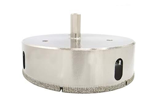 Drilax 4-1/8 inch Diamond Hole Saw Drill Bit Ceramic Porcelain Tile Marble Granite Quartz Tool 4 1/8 in