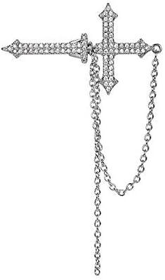 Luxury Fashion Free shipping / New Popular overseas Earrings Crosses Advanced Ear Sensory