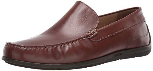 ECCO Men's Classic MOC 2.0 Slip On Shoe, Mink, 45 M EU (11-11.5 US)