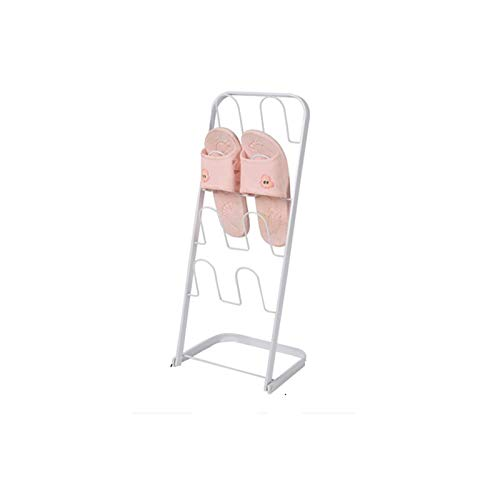 Zapatero Cuarto de baño de ahorro de espacio vertical Almacenamiento de inodoro Pequeño zapatero Puerta Simple Puerta Colgante Zapato Estante Estable Almacenamiento Multi-capa Estable ( Color : C )