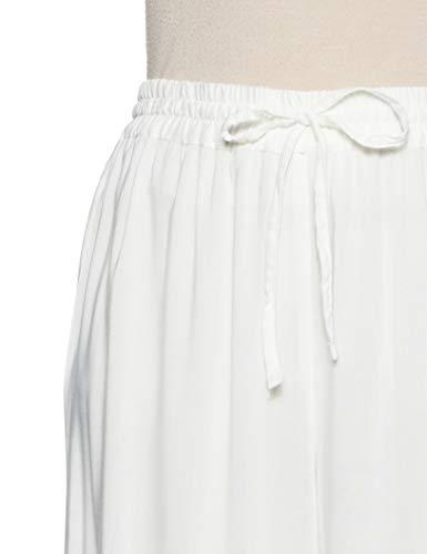 Anahi Women's Rayon Palazzo Bottom (280252623_Off-White_L Large)