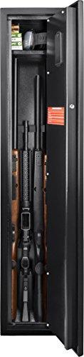Barska AX11652 Quick Access Biometric Rifle Safe, Small, Multicolor