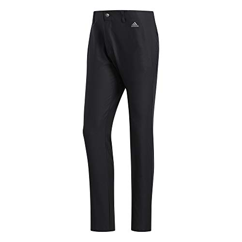 adidas Golf Ultimate 3-stripe Tapered Pant, Black, 3032