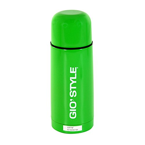 GIOSTYLE 6503005, Bouteille Unisexe – Adulte, Vert, 5.5 x 5.5 x 19.2 cm