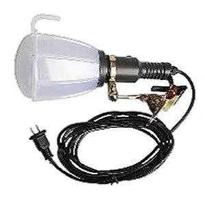三五屋 LED投光器 屋内・屋外作業用 クリップ式 21W 360°タイプ 昼光色 電線長5m 吊り下げフック2個付 SW-21W-W/C