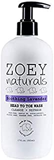 Zoey Naturals Soothing Lavender Head To Toe Wash