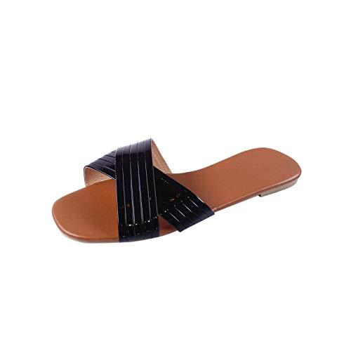 Cuidado Chaussures Femme Sandales Plates Femme ÉTé...