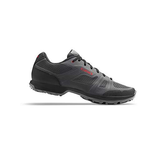 Giro Gauge W Womens Mountain Cycling Shoe − 39, Titanium/Dark Shadow (2020)