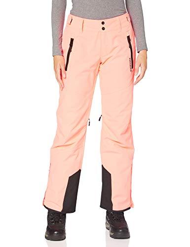 Chiemsee Damen Skihose, Neon Pink, 42(M)