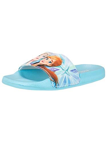 Disney Enfant des Sandales Frozen Bleu 30-32