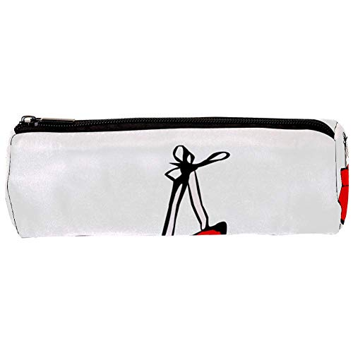 Bleistift Beutel Rote Boxhandschuhe Kreative Cartoon federmäppchen Nette einfache Studenten Kinder bleistift beutel schreibwaren Aufbewahrungstasche 20x6.3cm