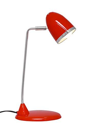 Maul 8231025 - Lámpara de escritorio, color rojo