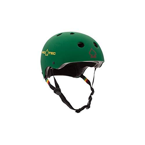 PRO-TEC(プロテック) CLASSIC CERTIFIED (クラシックサーティファイド) ヘルメット BMX&SKATE (S,マットラスタグリーン)