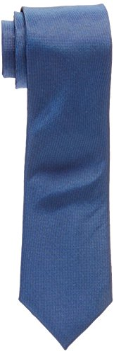 Calvin Klein Men s X Liquid Luxe Solid Tie, Cobalt, One Size