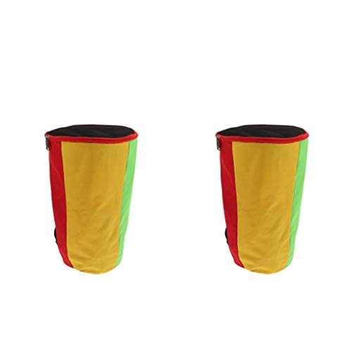 sharprepublic Bolsa Acolchada Duradera Y Cómoda de 13 Y 12 Pulgadas para Tambor Africano