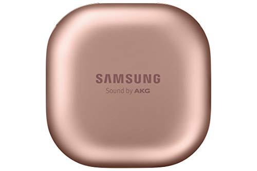SAMSUNG Galaxy Buds Live - Auriculares Bluetooth inalámbricos I 3 micrófonos I Tecnología AKG I Color Bronce [Versión española] miniatura