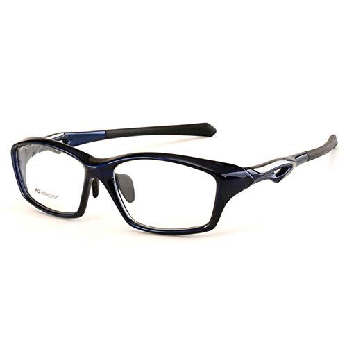 Xin Hai Yuan Montura De Gafas TR90 para Hombre, Montura Completa, Gafas De Moda para Deportes, Anteojos De Miopía, Diseño Antideslizante Ultraligero,C4