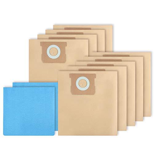KEEPOW 19-3100 Bolsa de filtro desechable y bolsa de filtro reutilizable compatible con aspiradoras...