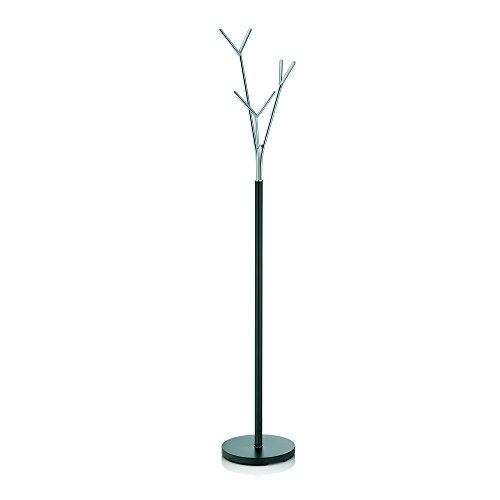 Kela Towel Holder Sinerio Collection, Tree Style, 68.3' Tall, Metal Chrome