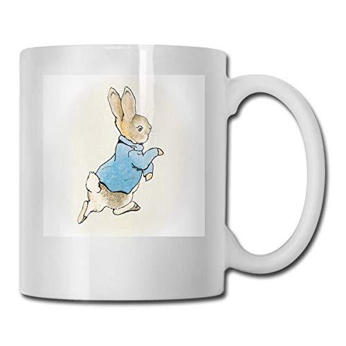 haoqianyanbaihuodian Peter Rabbit by Beatrix Potter - Vasos de cerámica (330 ml)