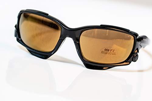 IDIO - Gafas de Sol Deportivas - Protección UV400 (Negro -...