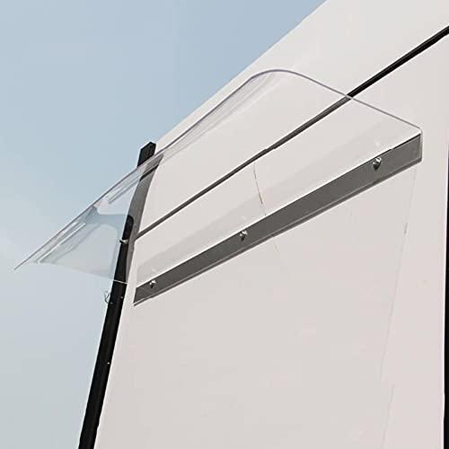 Toldo de ventana para puerta, cubierta moderna para patio, refugio de 40,6 x 31 cm, 16 x 47 pulgadas